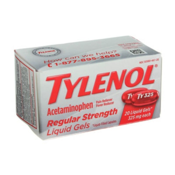 Tylenol® Liquid Gels Regular Strength