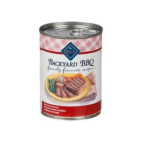 Blue Buffalo Family Favorite Recipes Backyard Bbq Adult Canned Dog Food