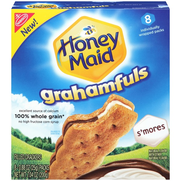 Honey Maid S'mores Grahamfuls