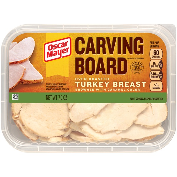 Oscar Mayer Carving Board Oven Roasted Turkey