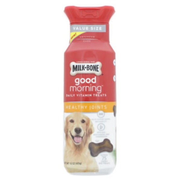 Milk-Bone Good Morning Daily Vitamins Healthy Joints Dog Treats