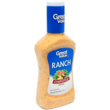 Great Value Chipotle Ranch Dressing, 16 fl oz