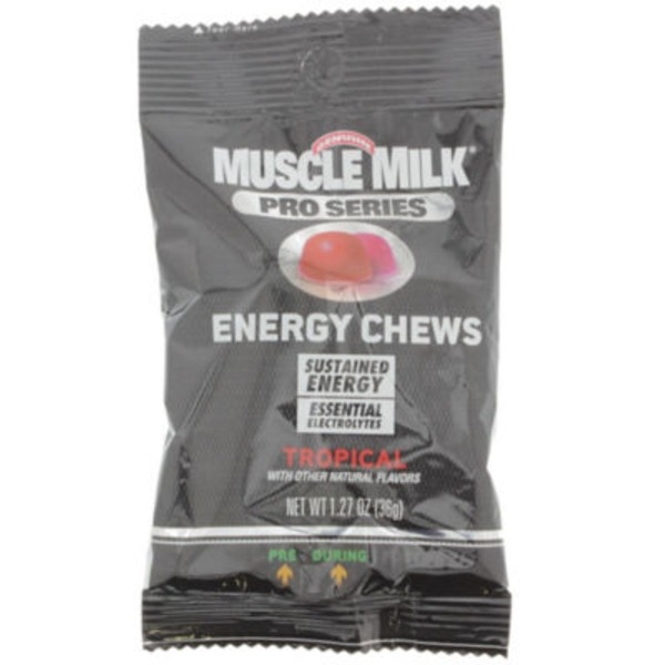 Muscle Milk Pro Series Energy Chews Tropical
