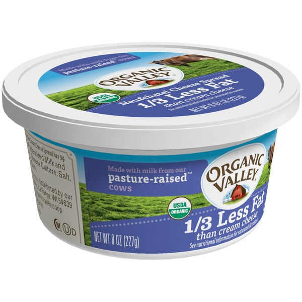 Organic Valley Neufchatel Cheese Neufchatel Cheese Spread