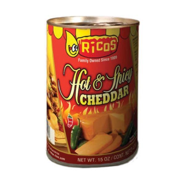 Ricos Hot & Spicy Cheddar Cheese Sauce