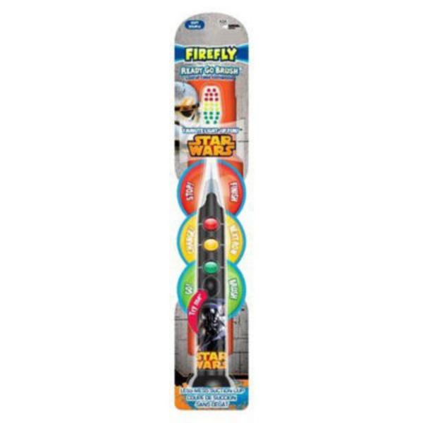 Firefly Ready Go Brush Star Wars Toothbrush Soft