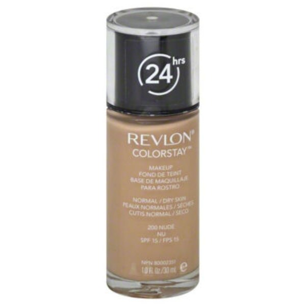 Revlon Makeup, Normal/Dry Skin, Nude 200