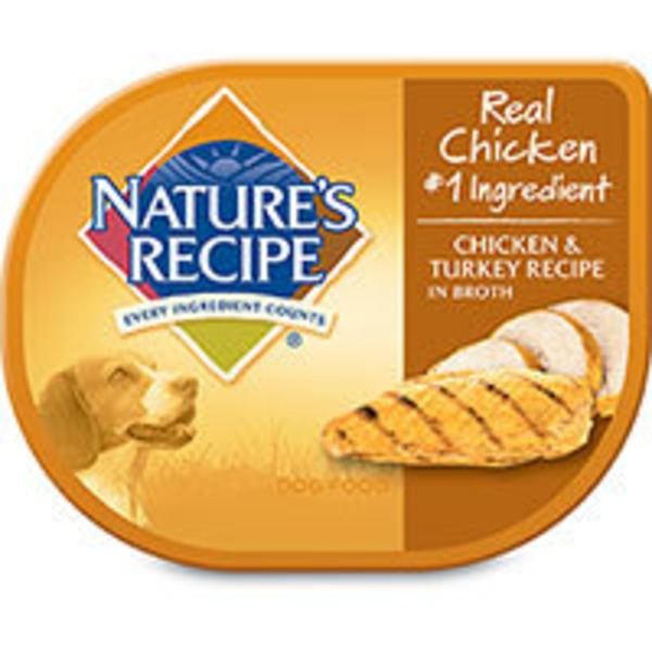 Nature's Recipe Chicken & Turkey in Broth Adult Dog Food
