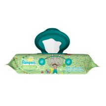 Pampers Baby Wipes Natural Clean 1X 64 count