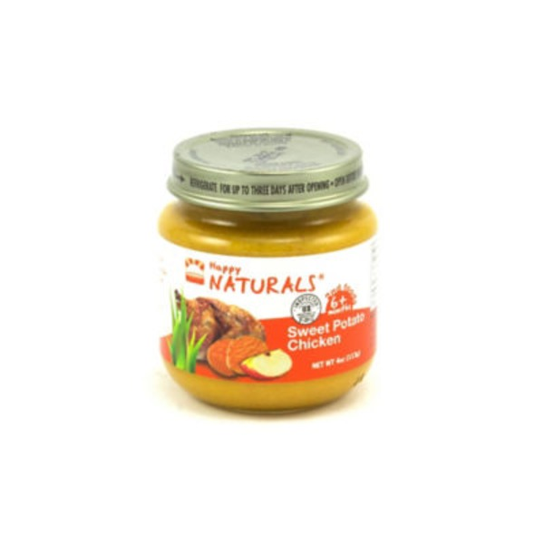 Happy Naturals 2nd Foods Sweet Potato Chicken Baby Food