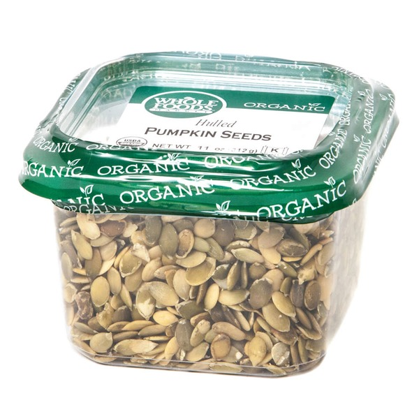 Whole Foods Market Organic Hulled Pumpkin Seeds