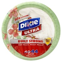 Dixie Ultra Plates - 44 CT