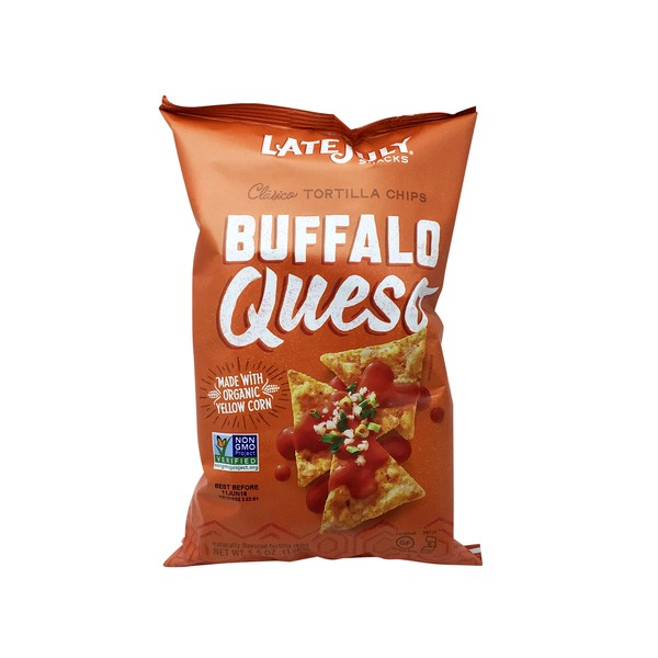 Late July Tortilla Chips Buffalo Queso