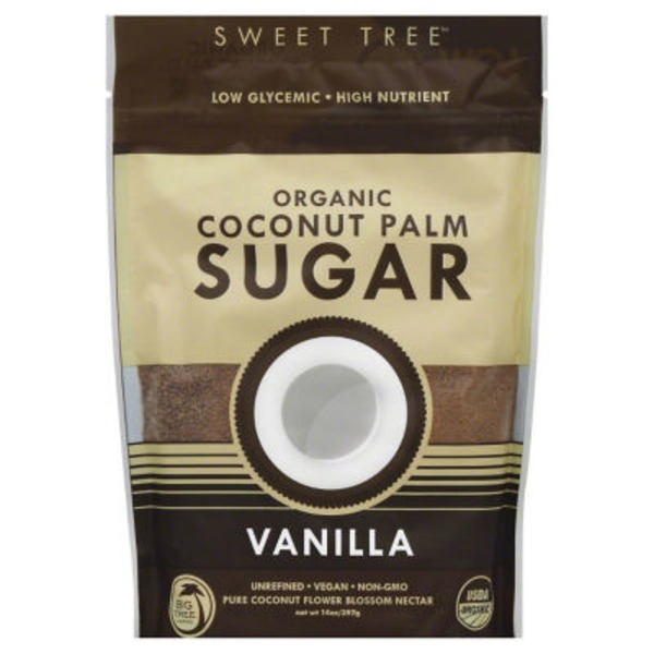 Sweet Tree Organic Vanilla Coconut Palm Sugar