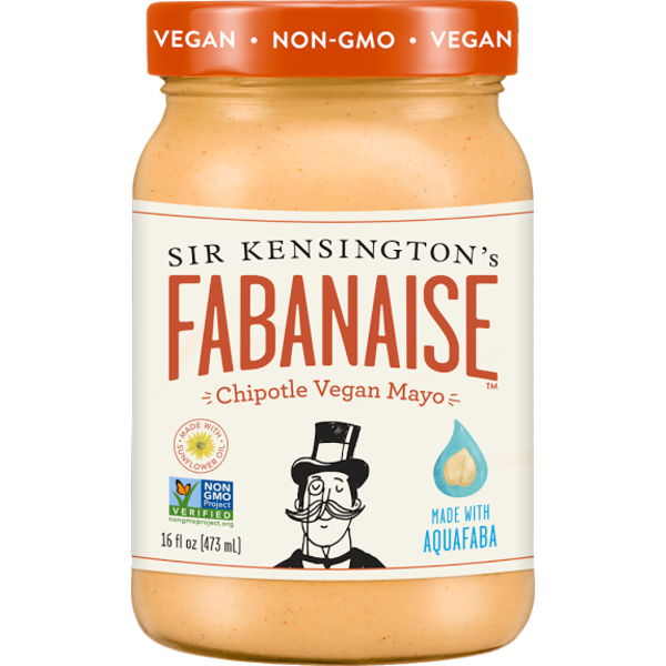 Sir Kensington's Fabanaise Chipotle Vegan Mayo Made With Aquafaba