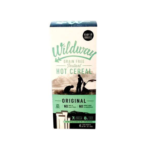 Wildway Grain Free Original Hot Cereal Packets