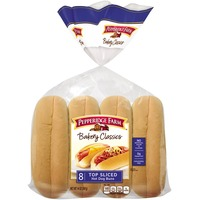 Pepperidge Farm Fresh Bakery Classic Top Sliced Hot Dog Buns