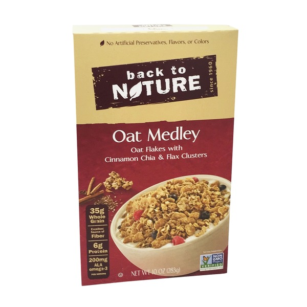 Back to Nature Oat Medley Cereal
