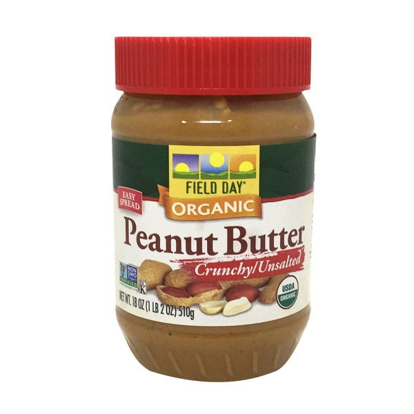 Field Day Unsalted Crunchy Peanut Butter