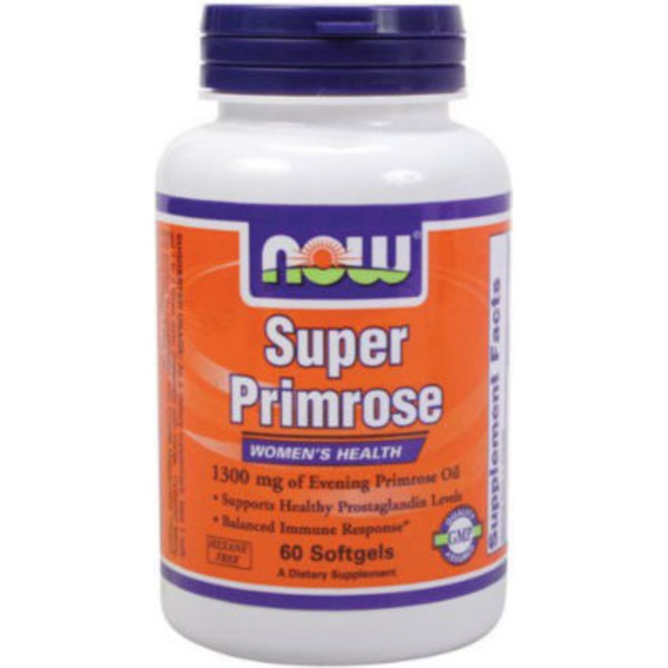 Now Super Primorose 1300 Mg Softgels