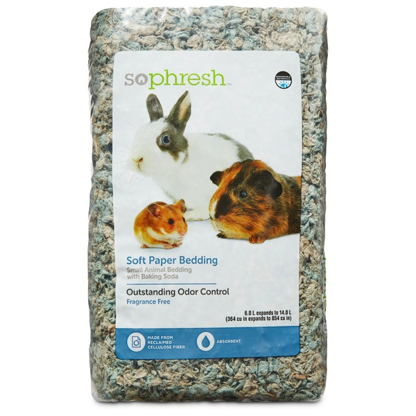 Sophresh Soft Paper Bedding for Small Animals