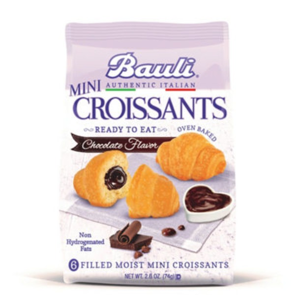 Bauli Croissants, Mini, Chocolate