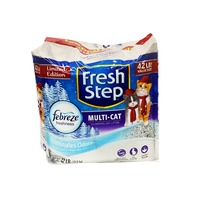 Fresh Step Premium Multiple Cat Strength Scoopable Clumping Cat Litter