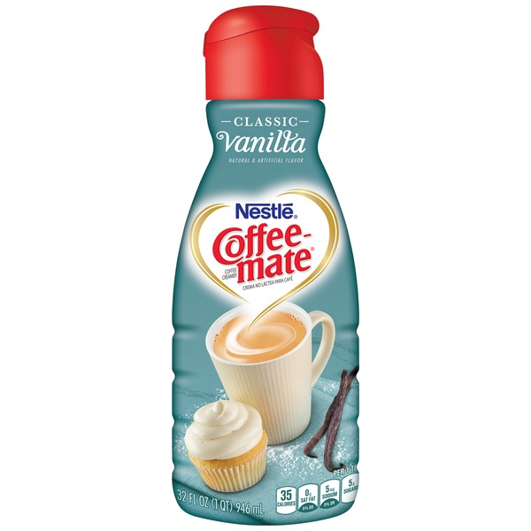 Nestlé Coffee Mate Classic Vanilla Liquid Coffee Creamer