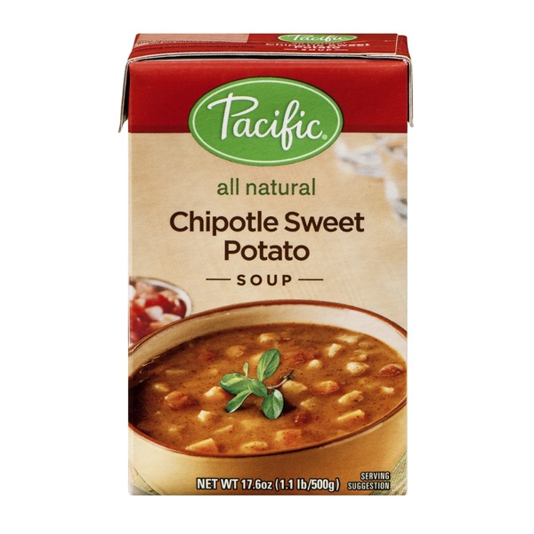 Pacific All Natural Chipotle Sweet Potato Soup