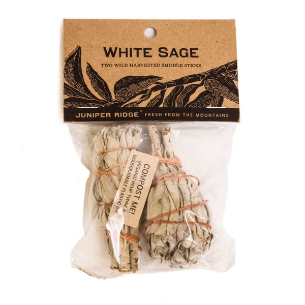 Juniper Ridge Small White Sage Smudge Stick
