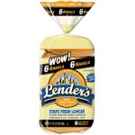 Lender's Refrigerated 100% Whole Wheat Bagels, 6 ct, 17.1 oz