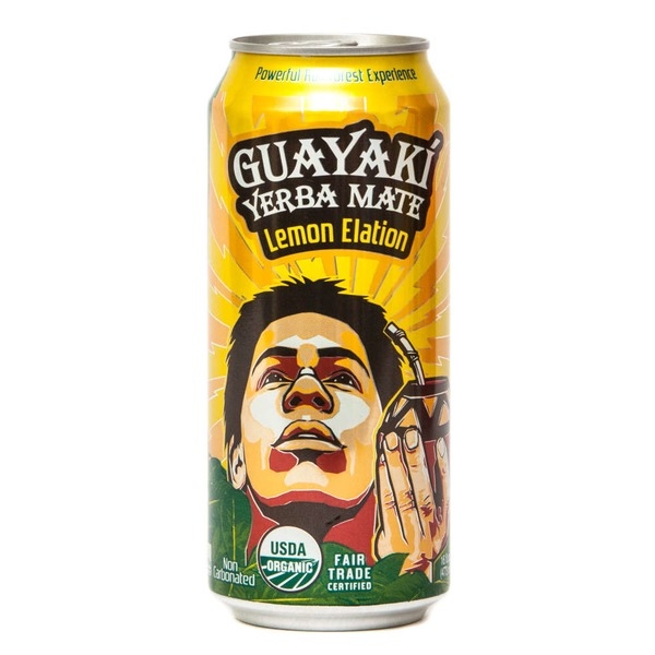Guayaki Yerba Mate Lemon Elation