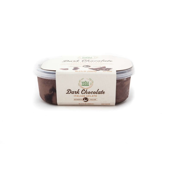 Whole Foods Market Dark Chocolate Italian Gelato