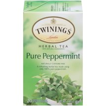 Twinings Of London Herbal Tea, Pure Peppermint, Tea Bags, 20 Ct