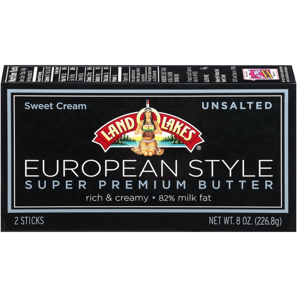 Land O Lakes® Unsalted European Style Butter