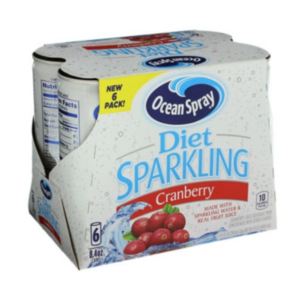 Ocean Spray Diet Sparkling Cranberry Fruit Juice Drink