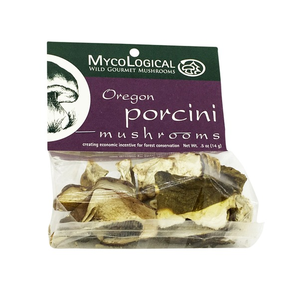 Organic Oregon Porcini Mushrooms
