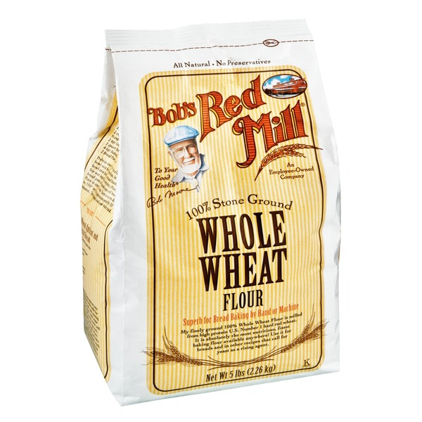 Bob's Red Mill Whole Wheat Flour, 100% Stone Ground