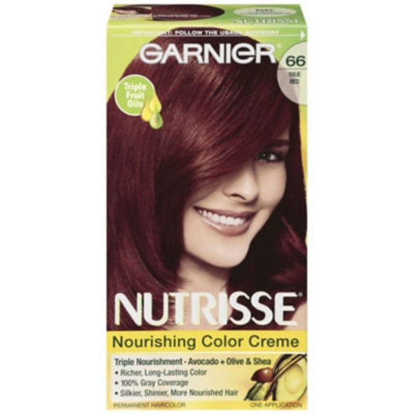 Nutrisse® 66 True Red (Pomegranate) Nourishing Color Creme