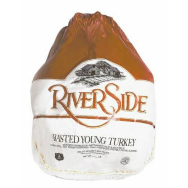 Riverside Frozen Grade A Whole Young Turkey