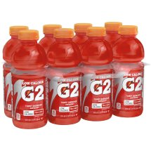 G2 Thirst Quencher Low Calorie Sports Drink, Fruit Punch, 20 Fl Oz, 8 Count