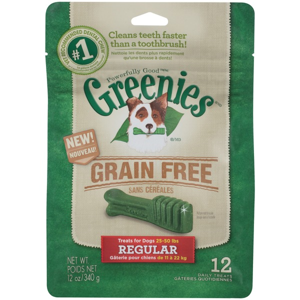 Greenies Grain Free Regular Dog Treats