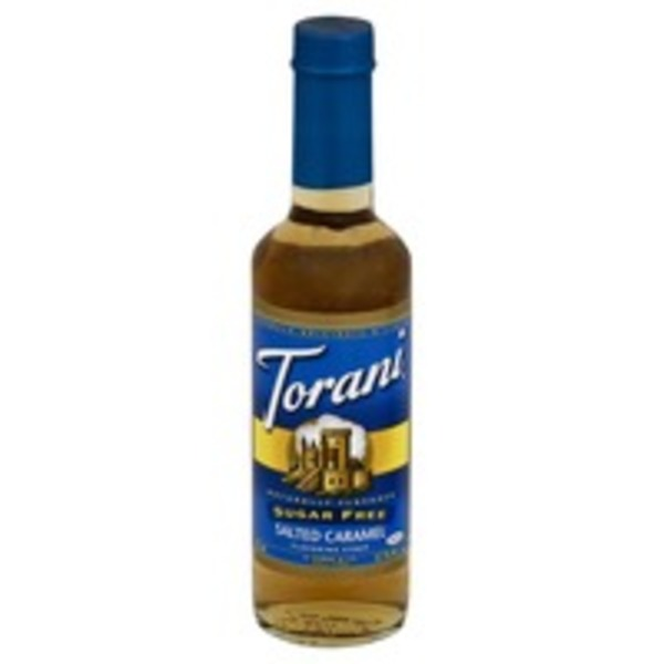 Torani Sugar Free, Salted Caramel, Bottle