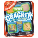 Armour Lunchmakers Cracker Crunchers with Meat (Turkey), Cheese, Crackers and Dessert, Ready to Eat