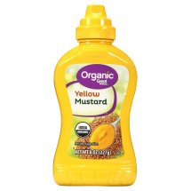 Great Value Organic Yellow Mustard, 8 oz
