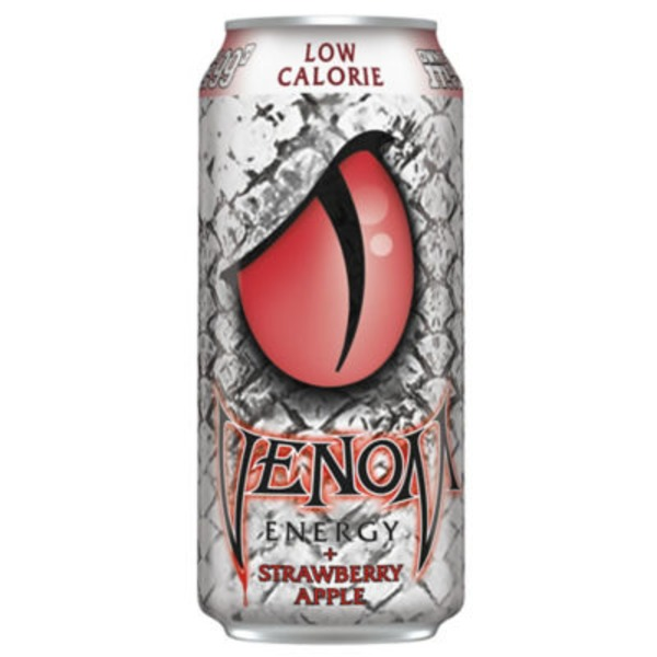 Venom Strawberry Apple Energy Drink