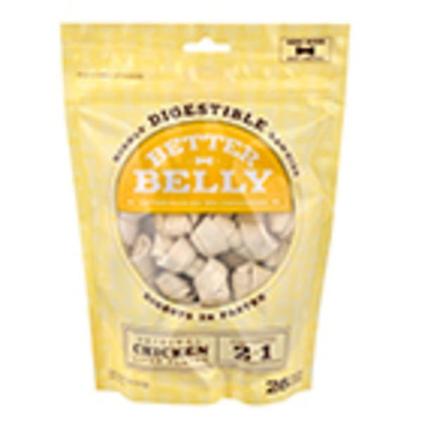 Better Belly Chicken Rawhide Large Dog Chews 11.2 Oz.