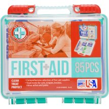 Be Smart Get Prepared First Aid Kit, 85 count