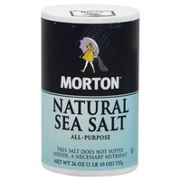 Morton Sea Salt Natural All-Purpose Sea Salt