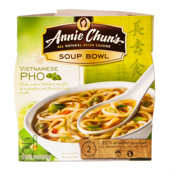 Annie Chuns All Natural Asian Cuisine Vietnamese Pho Soup Bowl